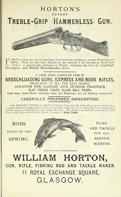 patent for fishing rods and gun parts